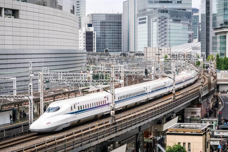 Tokaido Shinkansen near Yurakucho