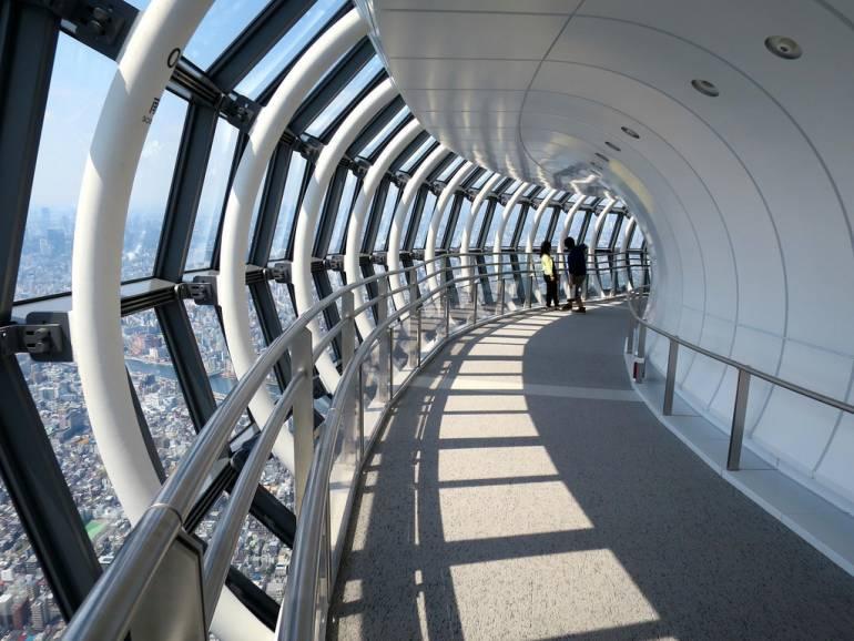 Tokyo Skytree observation deck passage