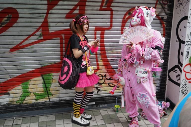 Characters Harajuku