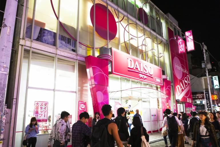 Takeshita Daiso Store Harajuku