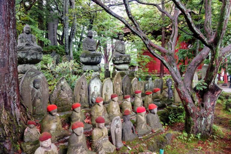 Kosenji Temple Statues