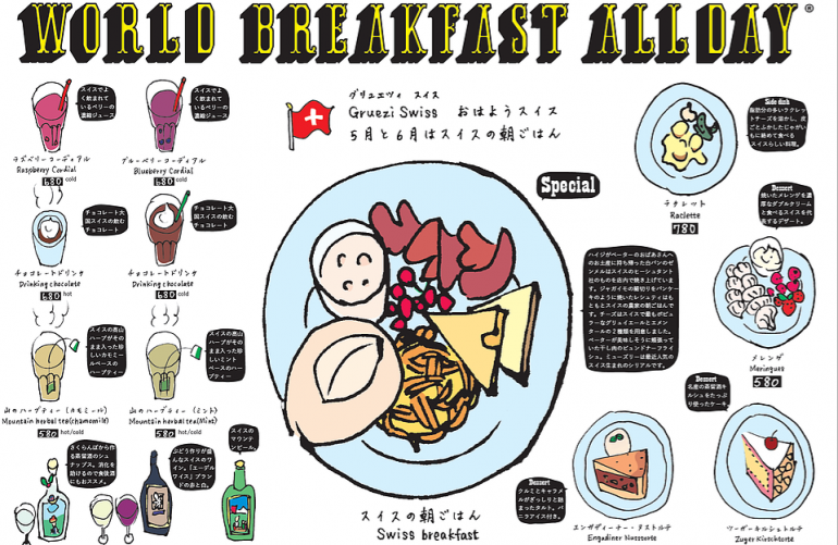 World Breakfast All Day Menu
