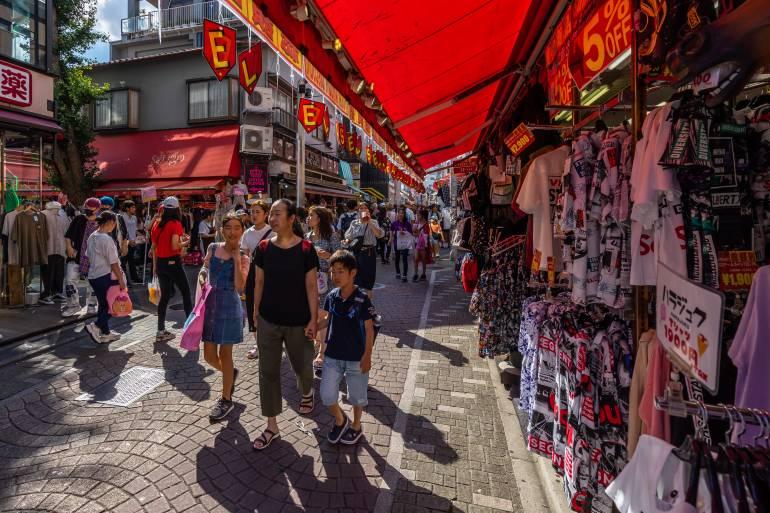 Clothes Shopping in Takeshita Harajuku