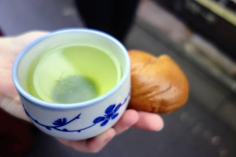 Tea and Manju