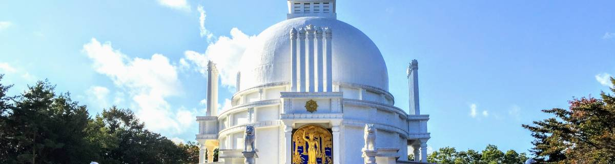 Discover an Indian World Peace Stupa on the Tip of Tokyo