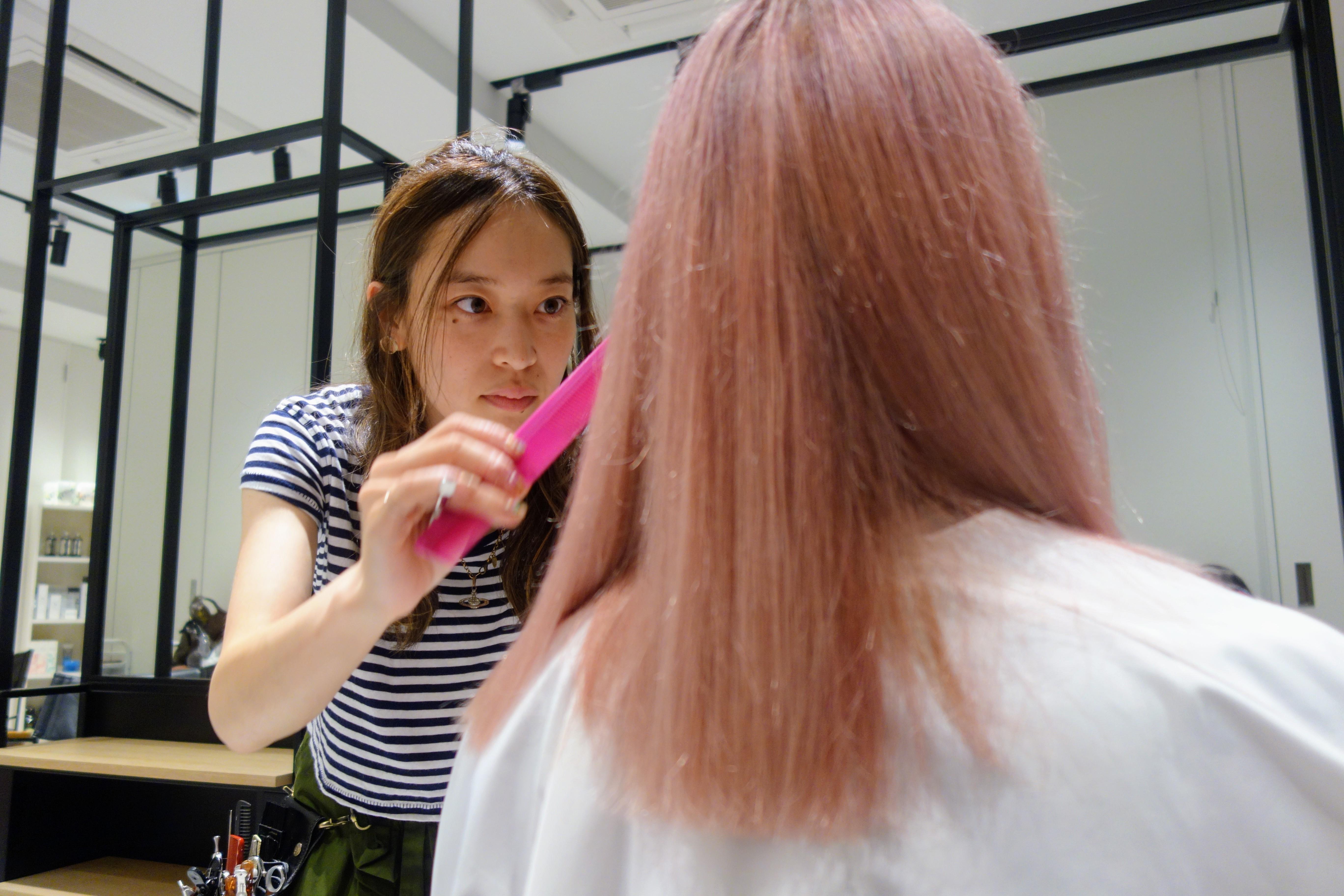 Budget English Speaking Hairdresser In Tokyo Ai Nomura Tokyo Cheapo