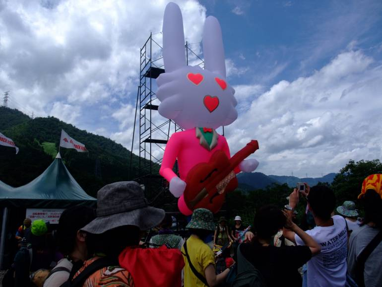 Seishun 18 to Fuji Rock Festival