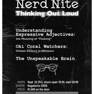 Nerd Nite #14: Thinking Out Loud