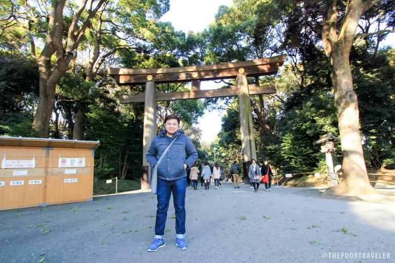Yoshke Poor Traveller at Meiji