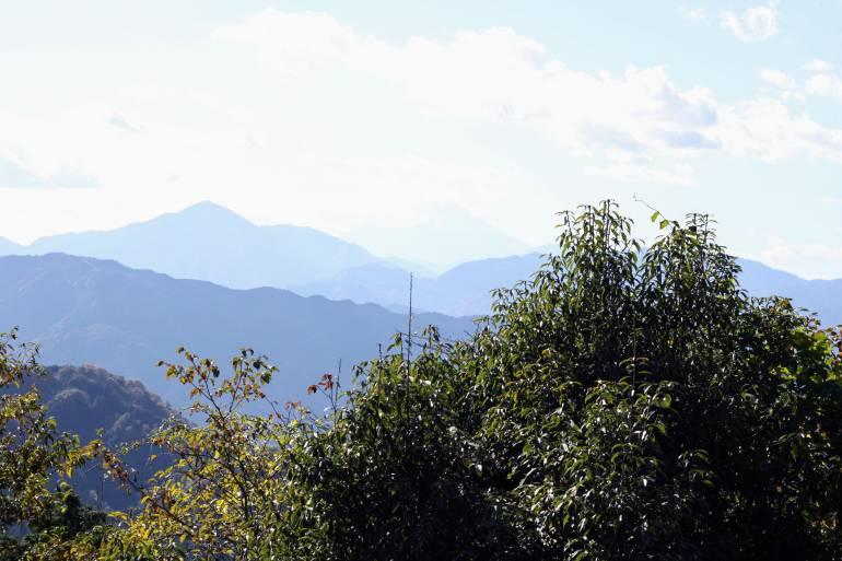 Fuji from Mount Takao