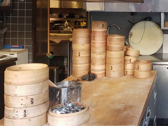 Bamboo containers