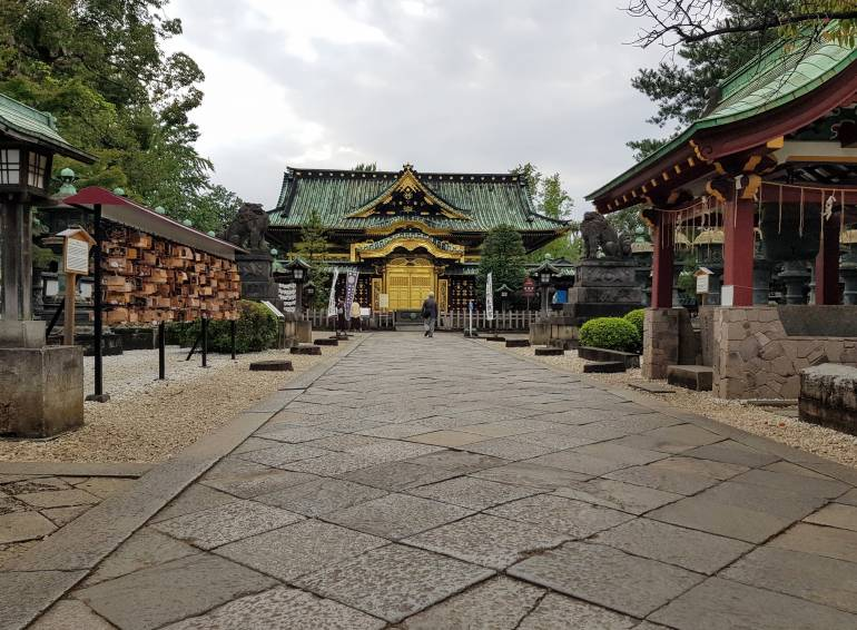 Toshogu main approach