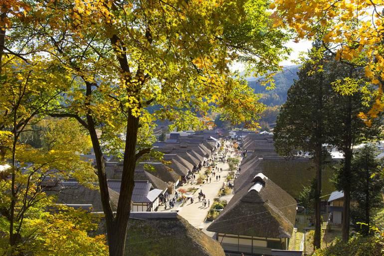 aizu fukushima autumn leaves
