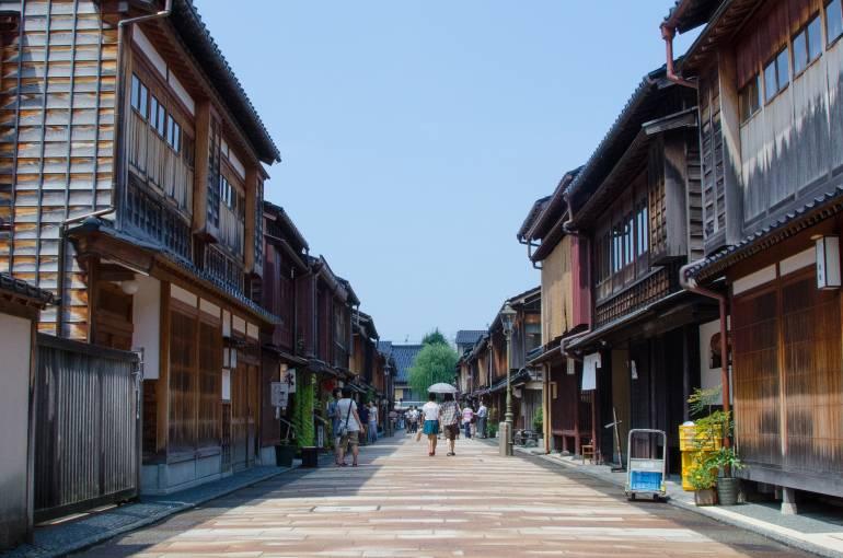 Higashi Chaya District Kanazawa
