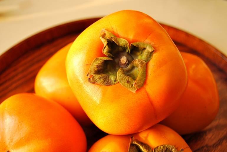 Persimmons fresh
