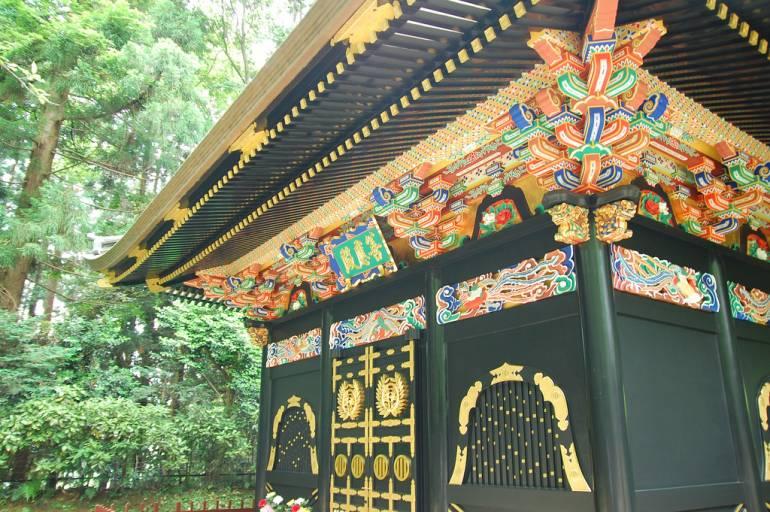 Sendai Zuihoden Mausoleum.