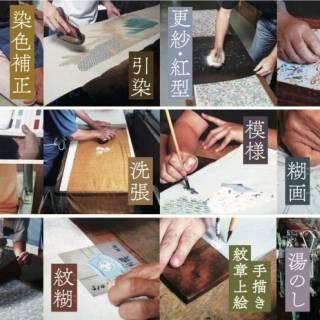 English Tours of Kimono Fabric Dyeing Shops