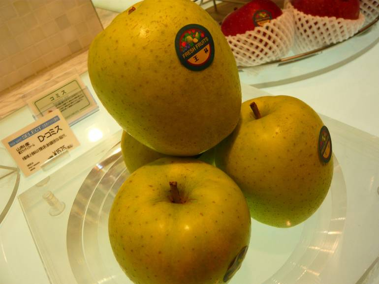 Depachika Apples