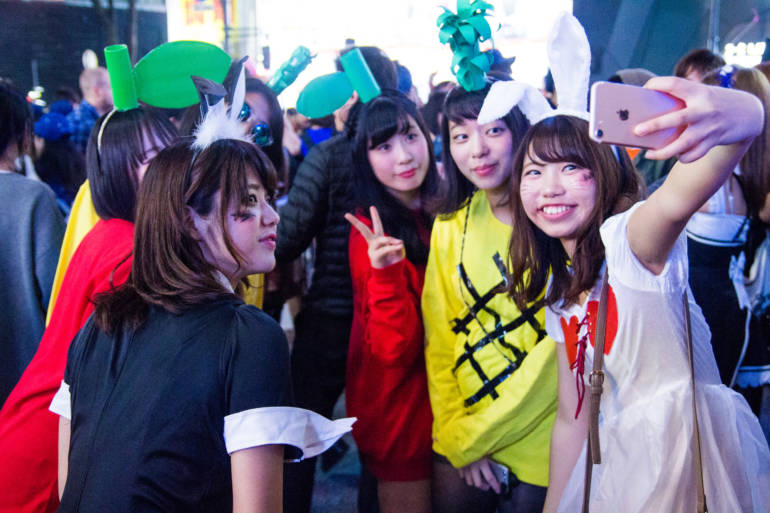 Tokyo Halloweeen anime manga cosplay