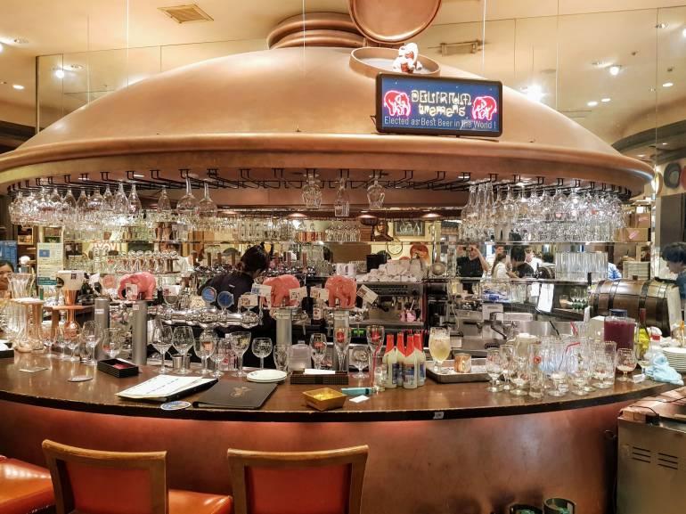 Delirium Main Bar