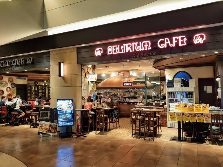 Delirium Cafe Reserve Akasaka