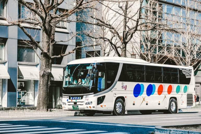tokyo to nagoya bus