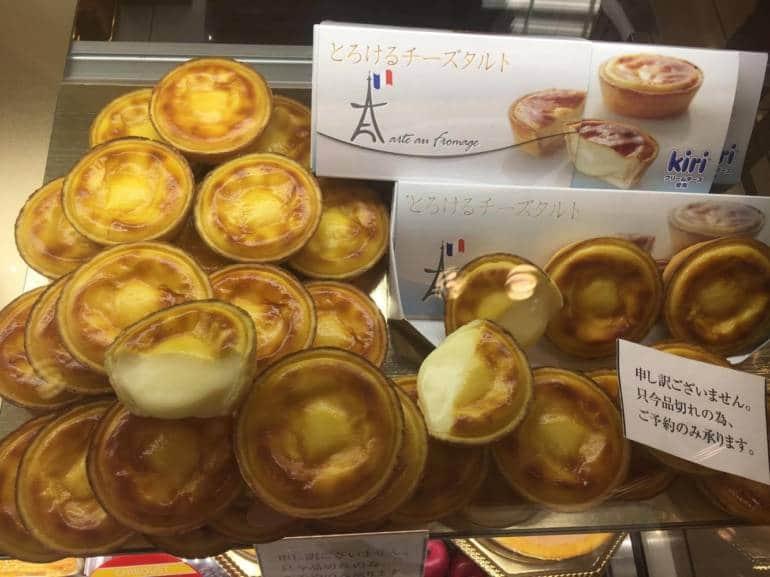 tokyo cheese tart shops