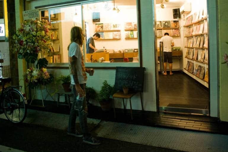 Record Shopping Shimokitazawa