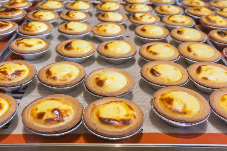 Hokkaido cheese tarts
