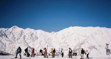 skiing in hakuba