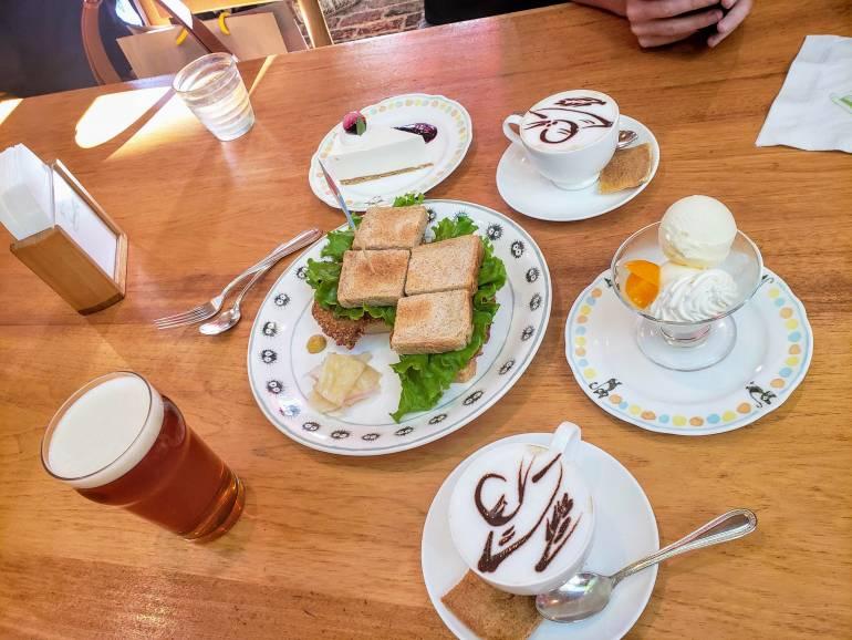 Ghibli Museum cafe