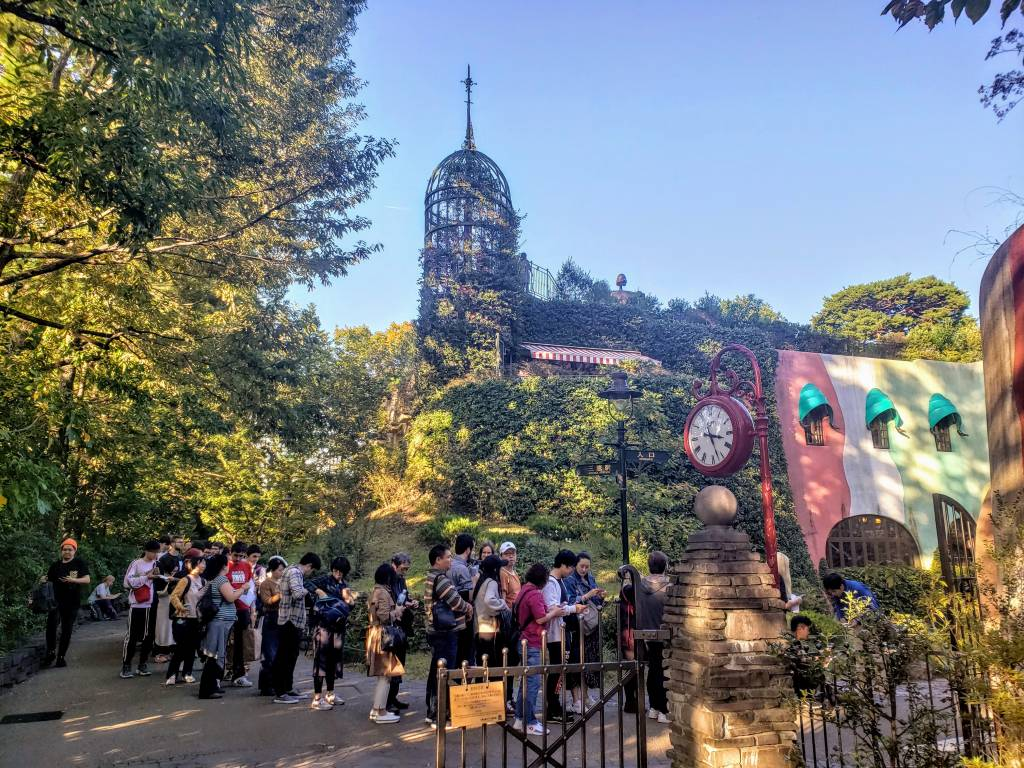 Ghibli Museum queue