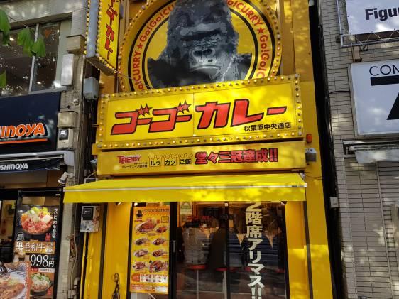 Go Go Curry Akihabara