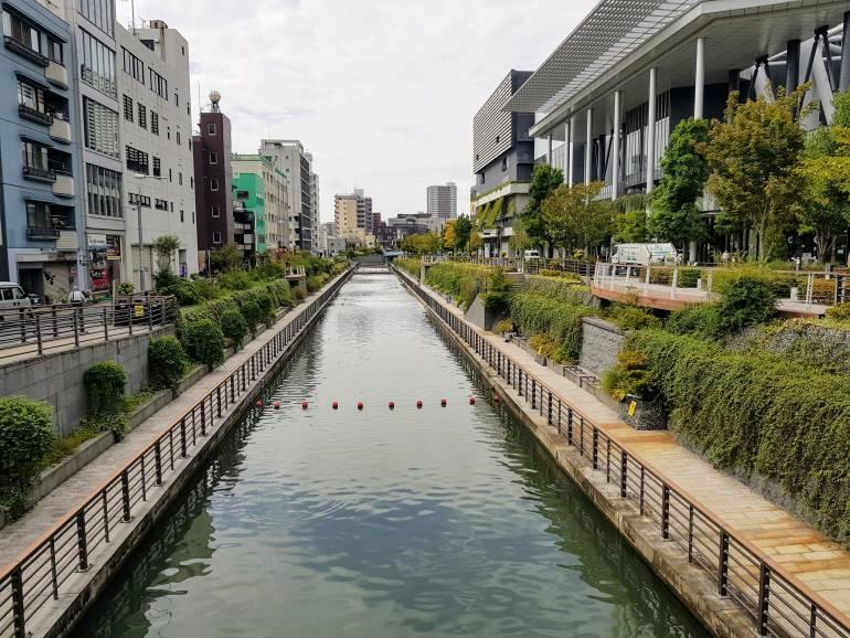 Kitajukken-gawa Canal at Tokyo Solamachi