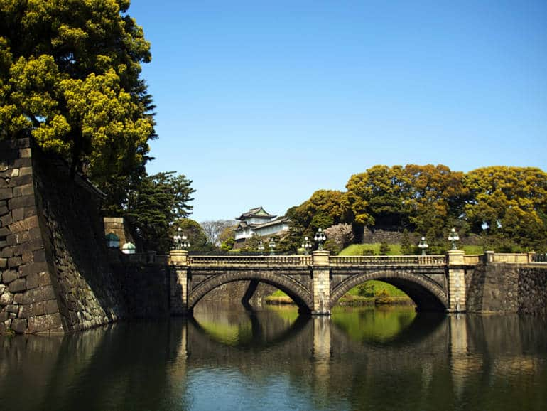 Imperial Palace Tokyo Nijubashi Bridge