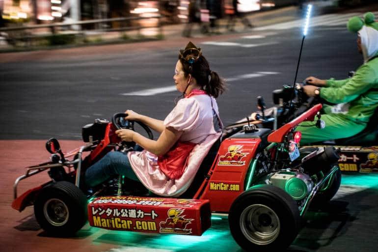 MarioKart Tokyo