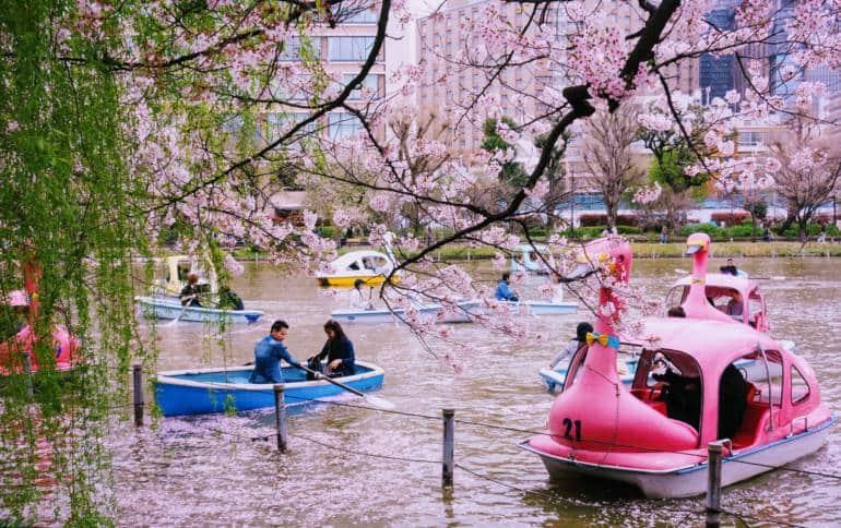 Ueno Park Boats