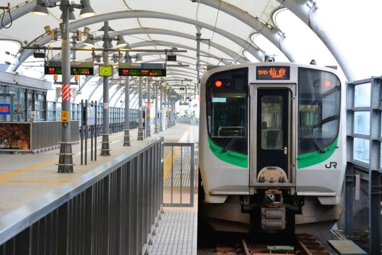 tokyo to sendai train