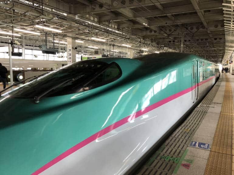 tokyo to sendai bullet train