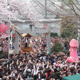 Tokyo Events This Week: The Kanamara Penis Festival and Sakura Cont'd