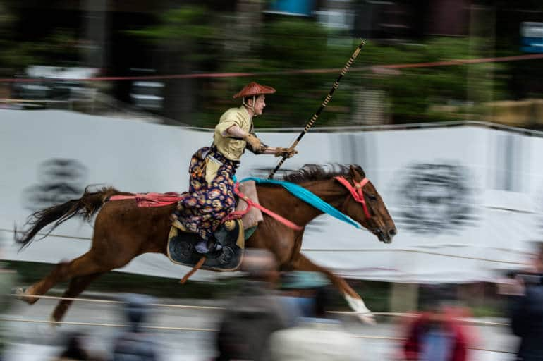 asakusa horseback archery