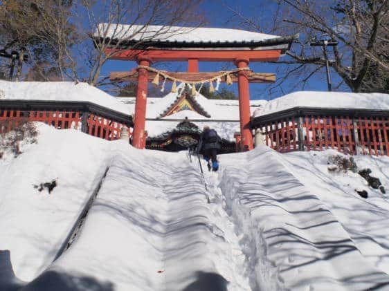 Yakuoin snow