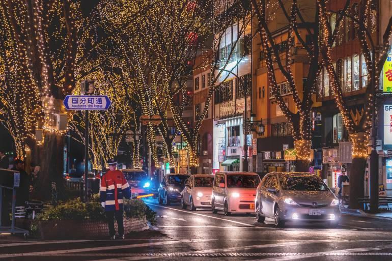 Sendai Pageant of Starlight winter illumination