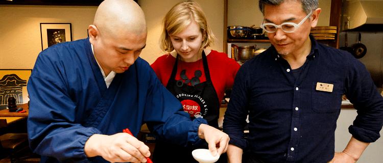 Shojin Ryori (Buddhist Cuisine) Cooking Class in Tokyo