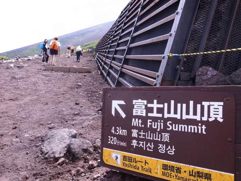 climbing fuji mount fuji japan