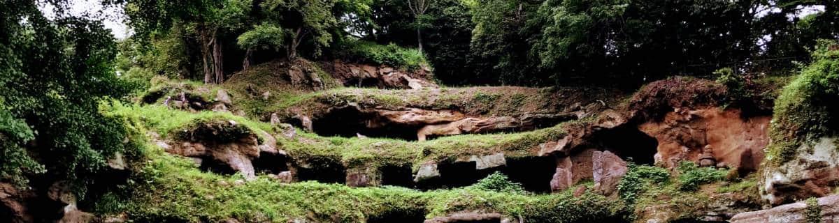 Mandarado Yagura Caves