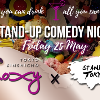 Stand Up Tokyo x Moxy: Comedy Night