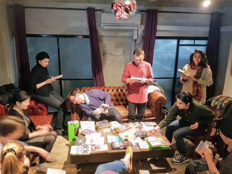 Tokyo English Book Exchange #8, 12th Mar, 2019