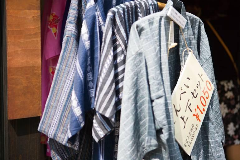 jinbei male summer garment japan