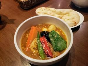 Soup curry Shanti Shibuya